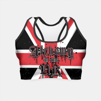 Thumbnail image of Alchemy in the UK Crop Top, Live Heroes