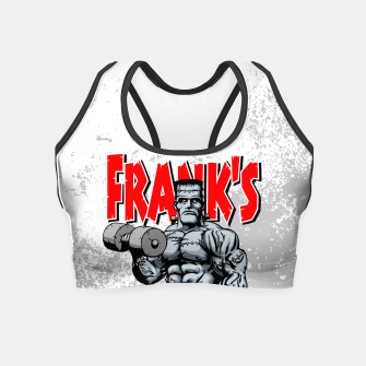 Thumbnail image of Frank's Gym Crop Top, Live Heroes