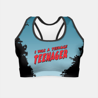 Thumbnail image of Teenage Terror Crop Top, Live Heroes