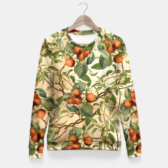 Thumbnail image of  Vintage Fruit Pattern Fitted Waist Sweater, Live Heroes