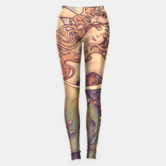 Thumbnail image of Andersen's Little Mermaid Nouveau Leggings, Live Heroes