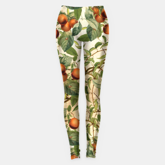 Thumbnail image of  Vintage Fruit Pattern Leggings, Live Heroes