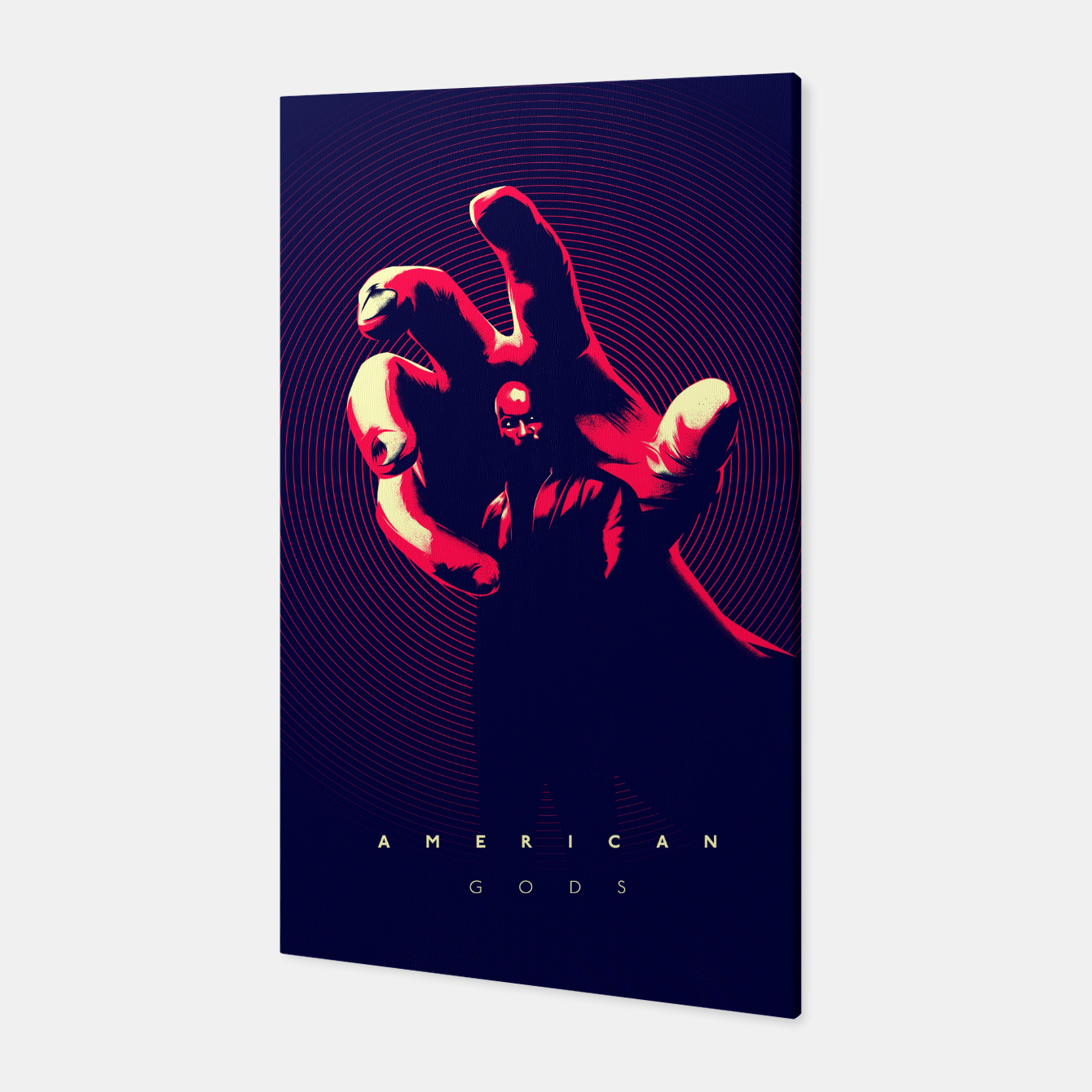 Image of American Gods Canvas - Live Heroes