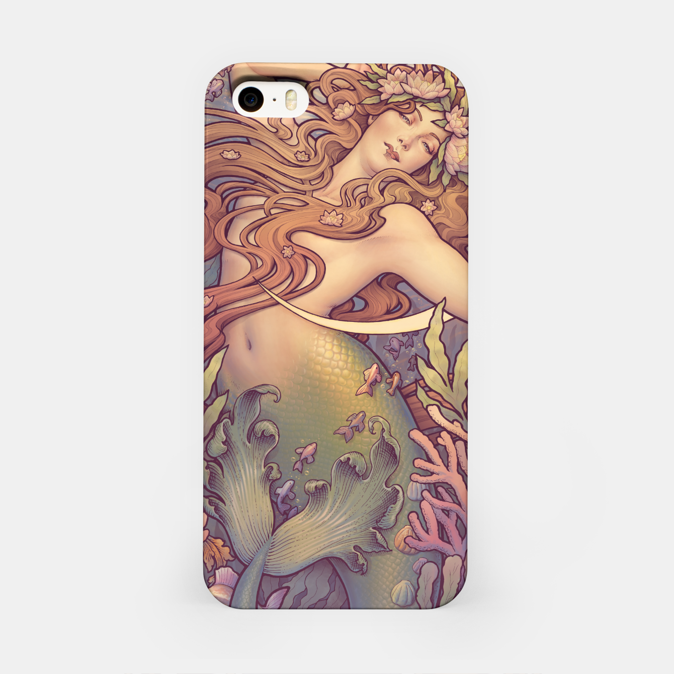 Image of Andersen's Little Mermaid Nouveau iPhone Case - Live Heroes