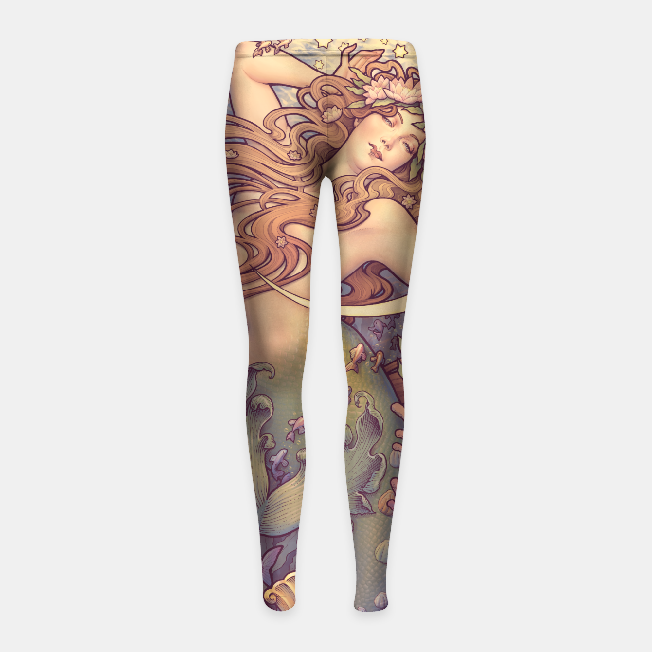 Image of Andersen's Little Mermaid Nouveau Girl's Leggings - Live Heroes
