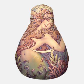 Thumbnail image of Andersen's Little Mermaid Nouveau Pouf, Live Heroes