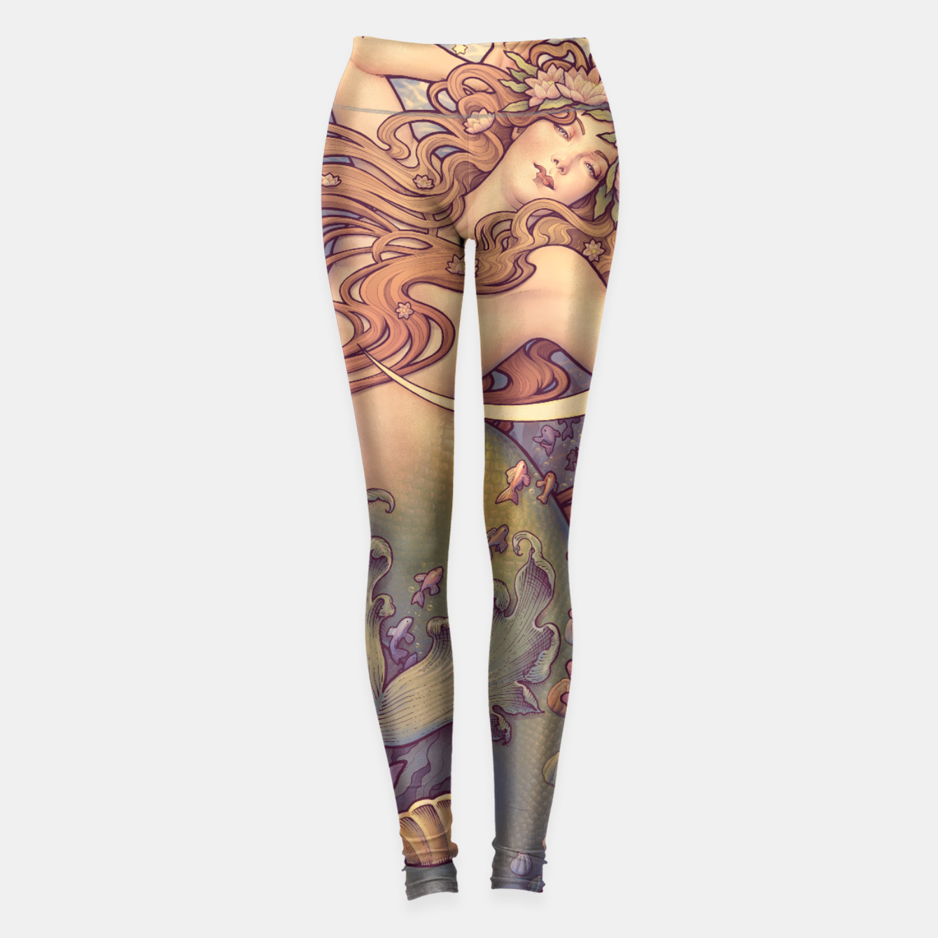 Image of Andersen's Little Mermaid Nouveau Leggings - Live Heroes
