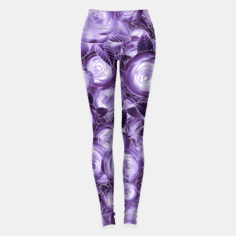 Miniatur Purple Flush Leggings, Live Heroes