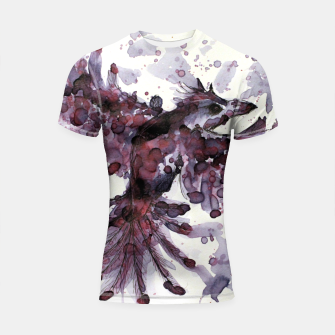 Thumbnail image of Tea Bird Shortsleeve Rashguard, Live Heroes