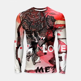 Thumbnail image of Can You Love ME Longsleeve Rashguard , Live Heroes