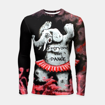 Thumbnail image of Everyone can dance Longsleeve Rashguard , Live Heroes