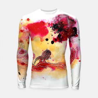 Thumbnail image of It's so big Longsleeve Rashguard , Live Heroes