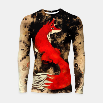 Thumbnail image of Dream of a fox Longsleeve Rashguard , Live Heroes