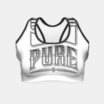 Thumbnail image of 99% Pure Crop Top, Live Heroes