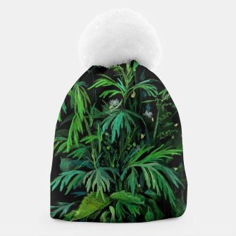 Thumbnail image of Green & Black Beanie, Live Heroes