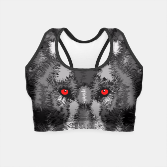 Thumbnail image of Wolf Crop Top, Live Heroes