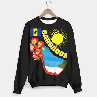 Thumbnail image of Tropical Sunshine Barbados Flowers Sweater regular, Live Heroes
