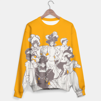 Thumbnail image of Vintage Ladies APRICOT Sweater, Live Heroes