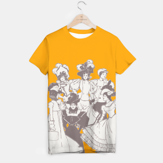 Thumbnail image of Vintage Ladies APRICOT T-shirt, Live Heroes