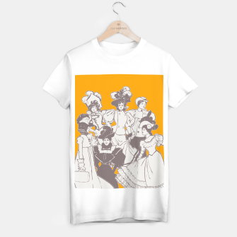 Thumbnail image of Vintage Ladies APRICOT T-shirt regular, Live Heroes