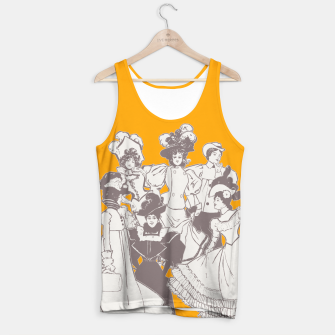 Thumbnail image of Vintage Ladies APRICOT Tank Top, Live Heroes