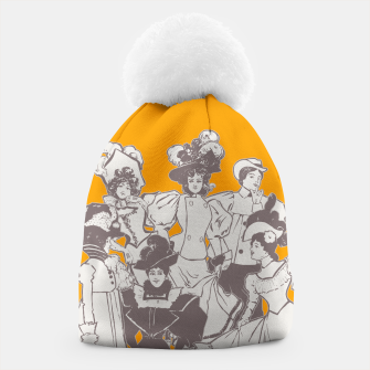 Thumbnail image of Vintage Ladies APRICOT Beanie, Live Heroes