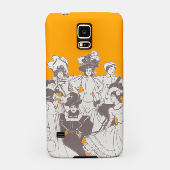 Thumbnail image of Vintage Ladies APRICOT Samsung Case, Live Heroes