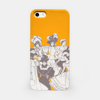 Thumbnail image of Vintage Ladies APRICOT iPhone Case, Live Heroes