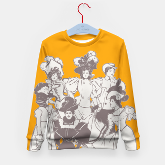 Thumbnail image of Vintage Ladies APRICOT Kid's Sweater, Live Heroes