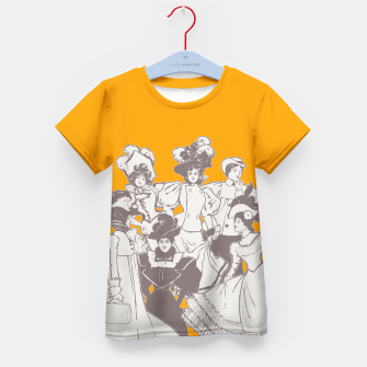 Thumbnail image of Vintage Ladies APRICOT Kid's T-shirt, Live Heroes