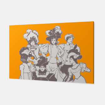 Thumbnail image of Vintage Ladies APRICOT Canvas, Live Heroes