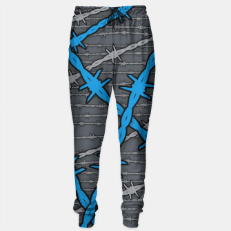Thumbnail image of Barbed ELECTRIC BLUE Sweatpants, Live Heroes