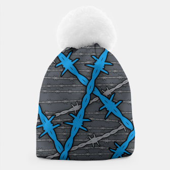 Thumbnail image of Barbed ELECTRIC BLUE Beanie, Live Heroes