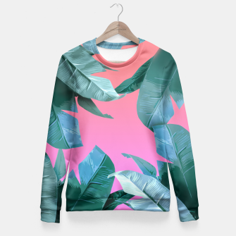 Thumbnail image of Tropical Dream Fitted Waist Sweater, Live Heroes