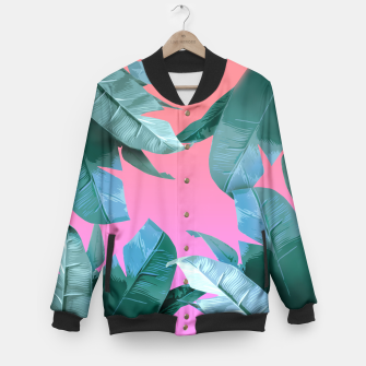 Thumbnail image of Tropical Dream Baseball Jacket, Live Heroes