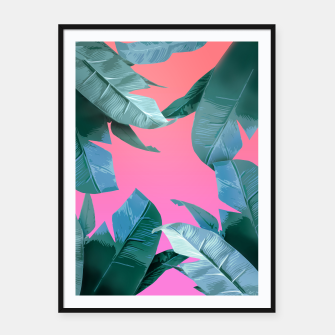 Thumbnail image of Tropical Dream Framed poster, Live Heroes