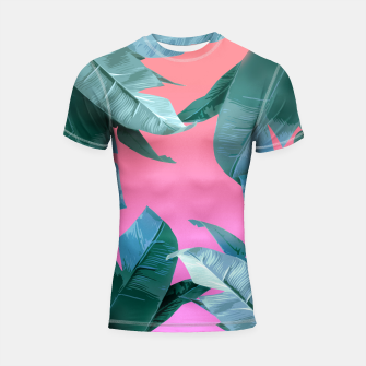 Thumbnail image of Tropical Dream Shortsleeve Rashguard, Live Heroes