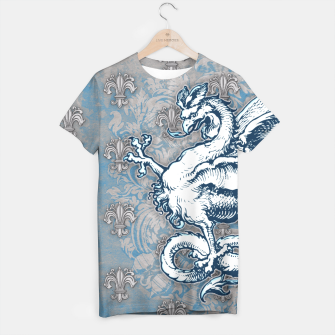 Thumbnail image of Noble House STEEL BLUE T-shirt, Live Heroes