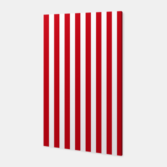 Miniatur Red Stripes Canvas, Live Heroes