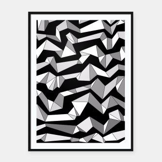 Miniature de image de Polynoise Lowpoly Framed poster, Live Heroes