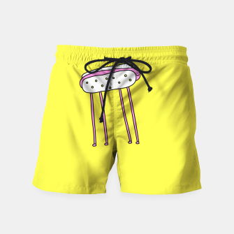 Thumbnail image of Hot Doggy Swim Shorts, Live Heroes