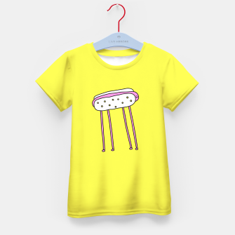 Thumbnail image of Hot Doggy Kid's T-shirt, Live Heroes
