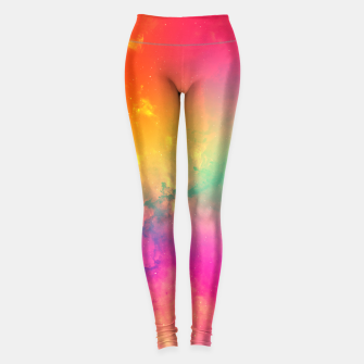Miniaturka Rainbow galaxy Leggings, Live Heroes