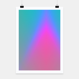 Thumbnail image of Vibrant gradient Poster, Live Heroes