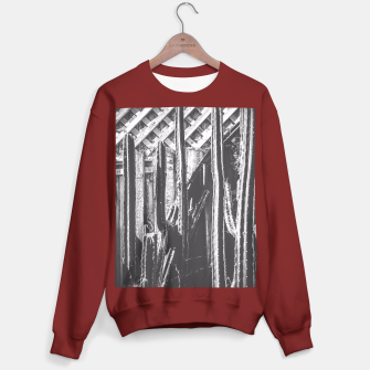 Thumbnail image of cactus with wooden fence in black and white Sweater regular, Live Heroes