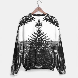Thumbnail image of Garden Majorelle Marrakech Black and White Sweater, Live Heroes