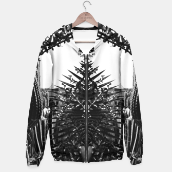 Thumbnail image of Garden Majorelle Marrakech Black and White Hoodie, Live Heroes