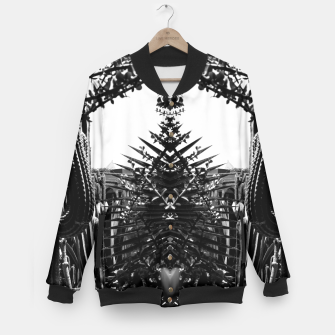 Thumbnail image of Garden Majorelle Marrakech Black and White Baseball Jacket, Live Heroes