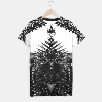 Thumbnail image of Garden Majorelle Marrakech Black and White T-shirt, Live Heroes