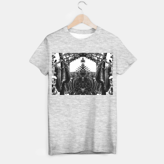 Thumbnail image of Garden Majorelle Marrakech Black and White T-shirt regular, Live Heroes